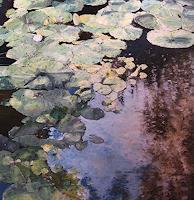 M. Krupickova, Water lilies