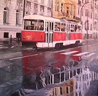 M. Krupickova, Tram No 17