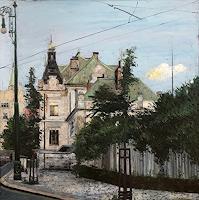 Martina-Krupickova-Architektur-Bauten-Haus-Moderne-Impressionismus-Neo-Impressionismus