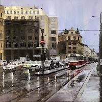 Martina-Krupickova-Verkehr-Auto-Diverse-Verkehr-Gegenwartskunst-Gegenwartskunst