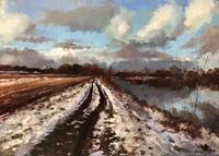 Martina-Krupickova-Landschaft-Winter-Diverse-Landschaften-Gegenwartskunst-Gegenwartskunst