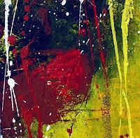 J. Rabitsch, kleine Farbenwelt abstrakt 2