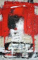Josef-Rabitsch-Abstraktes-Fantasie-Moderne-Abstrakte-Kunst-Action-Painting