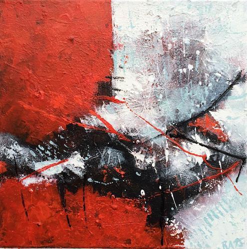 """Josef Rabitsch, WVZ 002/2015 - """"confused thoughts, Abstraktes, Fantasie, Abstrakte Kunst, Abstrakter Expressionismus"""