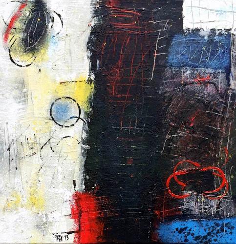 """Josef Rabitsch, WVZ 021/2015 - """"lost and found, Abstraktes, Fantasie, Abstrakte Kunst, Abstrakter Expressionismus"""