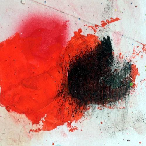 "Josef Rabitsch, WVZ 006/2015 - ""eruption volcanique, Abstraktes, Bewegung, Abstrakte Kunst, Abstrakter Expressionismus"