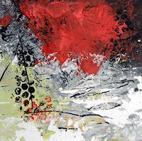 "Josef Rabitsch, SERIE 15 x 15 cm/ ""Advantage Life 03"
