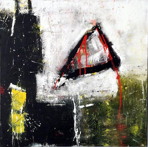 "Josef Rabitsch, WVZ 004/2016 - ""was treibt uns an, Abstraktes, Bewegung, Abstrakte Kunst, Abstrakter Expressionismus"