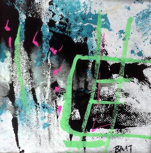 """Josef Rabitsch, WVZ 015/2017 / """"Farb(en)los 02, Abstraktes, Fantasie, Abstrakte Kunst, Abstrakter Expressionismus"""