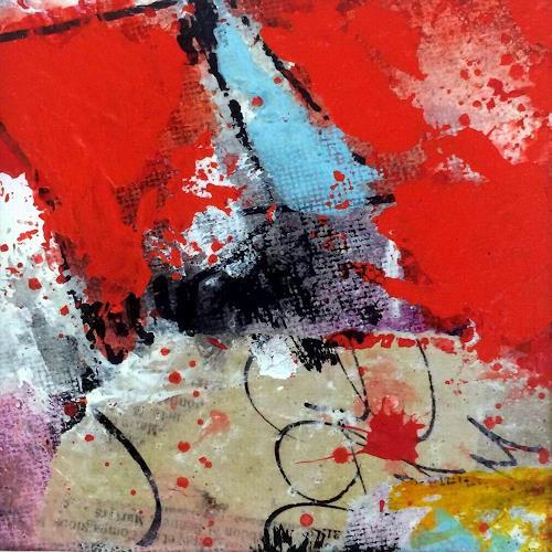 """Josef Rabitsch, 04 """"nichts wie weg, Abstraktes, Bewegung, Abstrakte Kunst, Abstrakter Expressionismus"""