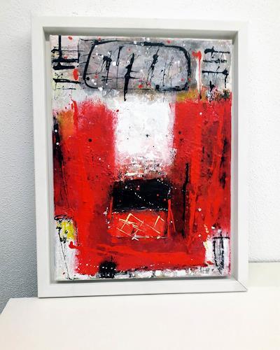 Josef Rabitsch, wie von selbst, Abstraktes, Fantasie, Abstrakte Kunst