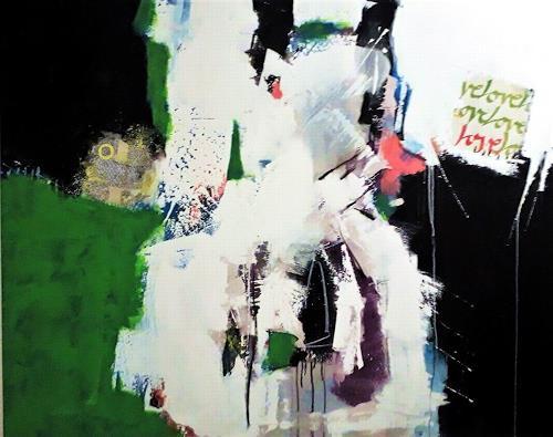 Josef Rabitsch, dran-bleiben, Abstraktes, Fantasie, Abstrakte Kunst, Abstrakter Expressionismus