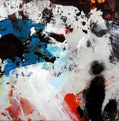 Josef Rabitsch, WVZ 07/2021, Fantasie, Bewegung, Abstrakte Kunst, Abstrakter Expressionismus