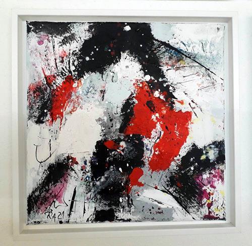 Josef Rabitsch, WVZ 08/2021, Fantasie, Bewegung, Abstrakte Kunst