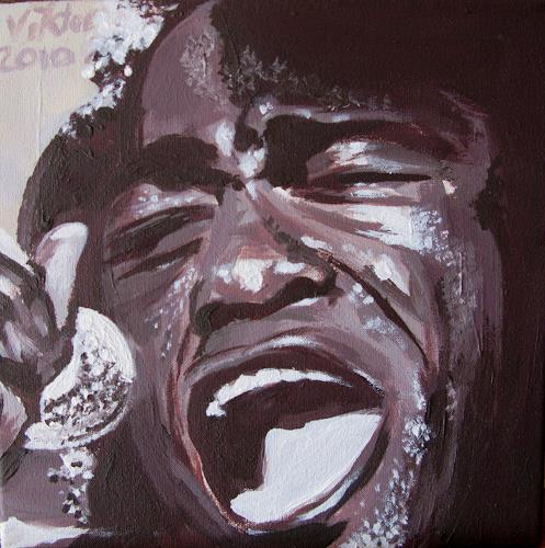 viktor schwarz, Jaaaaaymes Brown, Musik: Musiker, Menschen: Porträt, Pop-Art, Abstrakter Expressionismus