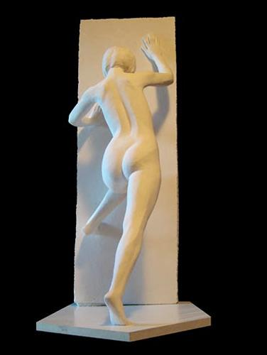 Sime - Mladen Simunovic, hindernis, Akt/Erotik: Akt Frau, Expressionismus