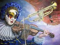 Daniel-Chiriac-Musik-Instrument-Fantasie-Moderne-Avantgarde-Surrealismus