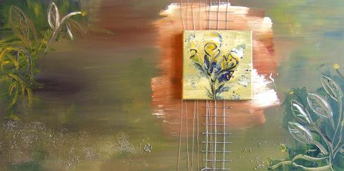 Astrid Strahm, Botanica, Dekoratives, Diverse Pflanzen, Gegenwartskunst