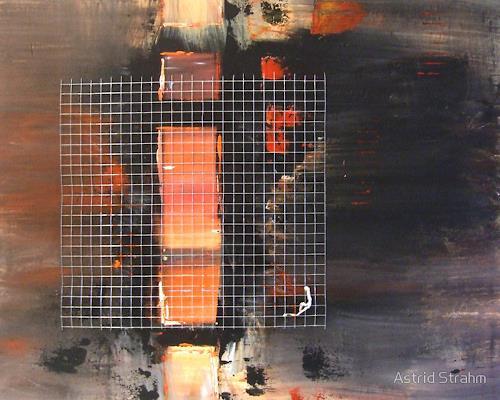 Astrid Strahm, Seelenfenster, Dekoratives, Diverse Gefühle, Gegenwartskunst