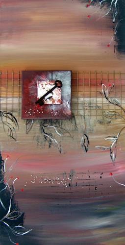 Astrid Strahm, Schlüsselbild, Fantasie, Symbol, Gegenwartskunst