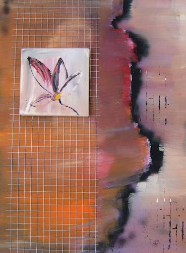 Astrid Strahm, Eden II, Dekoratives, Pflanzen: Blumen, Gegenwartskunst