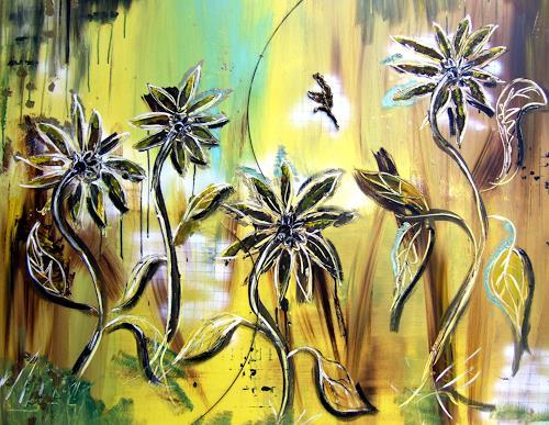 Astrid Strahm, Fairy Tale, Fantasie, Pflanzen: Blumen, Gegenwartskunst