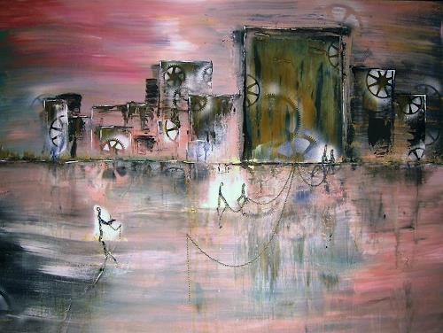 Astrid Strahm, Break away, Fantasie, Diverse Gefühle, Gegenwartskunst