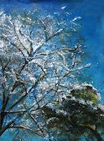 Renee-Koenig-Natur-Luft-Landschaft-Winter-Moderne-Impressionismus-Neo-Impressionismus