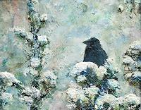 Renee-Koenig-Tiere-Luft-Landschaft-Winter-Gegenwartskunst-Gegenwartskunst