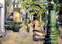 Renee-Koenig-Wohnen-Stadt-Bewegung-Moderne-Impressionismus-Neo-Impressionismus