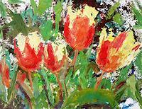 Renee-Koenig-Pflanzen-Blumen-Stilleben-Moderne-Abstrakte-Kunst