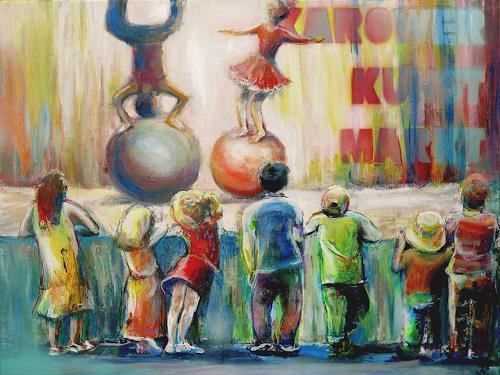 Renée König, Karow-Kids, Markt, Menschen: Kinder, Realismus, Expressionismus