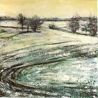 Renee-Koenig-Landschaft-Ebene-Landschaft-Winter-Gegenwartskunst-Gegenwartskunst