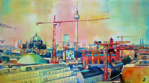 Renée König, Berlin im Wandel, Architektur, Wohnen: Stadt, Gegenwartskunst