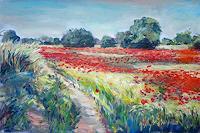 Renee-Koenig-Landschaft-Sommer-Diverse-Romantik-Moderne-Impressionismus-Neo-Impressionismus