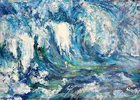 Renee-Koenig-Landschaft-See-Meer-Natur-Wasser-Gegenwartskunst-Neo-Expressionismus
