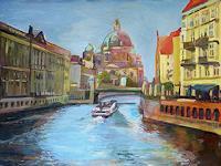 Renee-Koenig-Gefuehle-Freude-Bauten-Kirchen-Moderne-Impressionismus-Postimpressionismus
