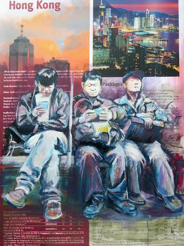 Renée König, Hong Kong - where East meets West, Menschen: Gruppe, Situationen, Gegenwartskunst