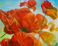Renee-Koenig-Pflanzen-Blumen-Zeiten-Sommer-Moderne-Abstrakte-Kunst