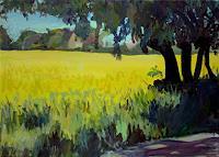 Renee-Koenig-Diverse-Romantik-Landschaft-Ebene-Moderne-Impressionismus-Postimpressionismus