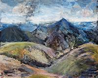 Renee-Koenig-Landschaft-Berge-Natur-Erde-Moderne-Expressionismus-Neo-Expressionismus