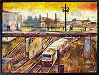 Renee-Koenig-Arbeitswelt-Verkehr-Bahn-Moderne-expressiver-Realismus