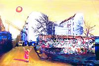 Renée König, Ein Luftballon über'n RAW-Gelände