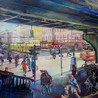 Renee-Koenig-Gesellschaft-Diverse-Menschen-Moderne-Impressionismus-Postimpressionismus