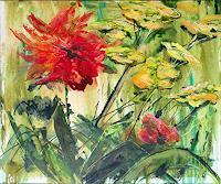 Renee-Koenig-Pflanzen-Blumen-Wohnen-Garten-Moderne-expressiver-Realismus
