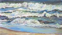 Renee-Koenig-Landschaft-See-Meer-Moderne-Impressionismus-Postimpressionismus