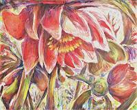 Renee-Koenig-Pflanzen-Blumen-Moderne-expressiver-Realismus