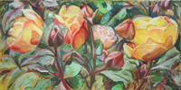Renee-Koenig-Pflanzen-Blumen-Landschaft-Sommer-Moderne-Impressionismus-Postimpressionismus