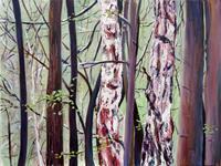 Renee-Koenig-Landschaft-Fruehling-Natur-Wald-Neuzeit-Realismus