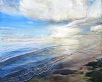 Renee-Koenig-Landschaft-See-Meer-Poesie-Moderne-Fotorealismus